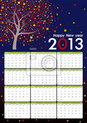 2013 kalendarz