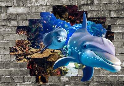 Fototapeta 3d amazing nature and beautifull background wall