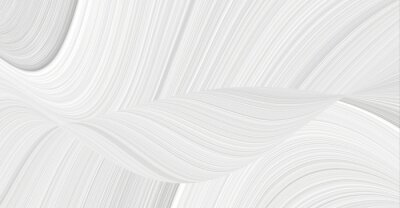 Fototapeta 3d background with an abstract pattern of waves and lines in a space theme. Texture white and gray for patterns and seamless illustrations.