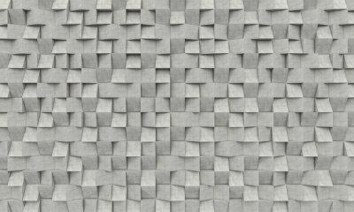 Fototapeta 3d betonowych geometrycznych tle
