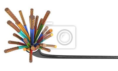 Fototapeta 3d kabla