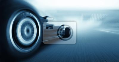 Fototapeta 3d render, wzór jeden samochód koncepcyjny