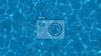 Fototapeta 3d rendering water caustics. Texture of the water surface