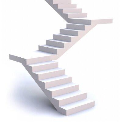Fototapeta 3D schody