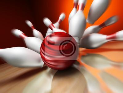 3d zabawy z piłką do kręgli awarii do złączy. Extrem