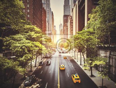 Fototapeta 42nd Street w Nowym Jorku w ciągu dnia