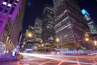 Fototapeta 6th Avenue Miasta w Nowym Jorku