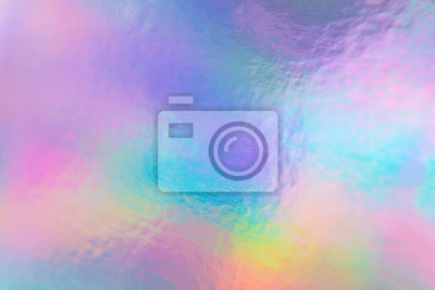 Fototapeta a colorful hologram paper