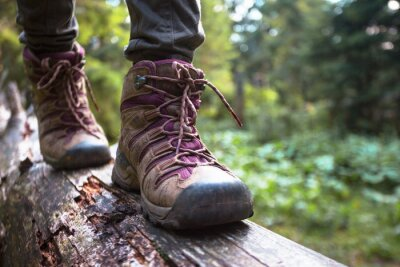 Fototapeta a hiking boots