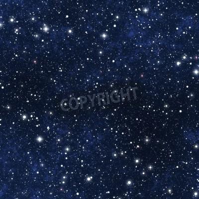 Fototapeta a star filled night sky background texture
