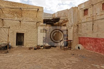Abandoned and deserted city in Ouarzazate, Morocco.
