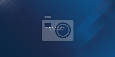 Fototapeta Abstract background dark blue with modern corporate concept.