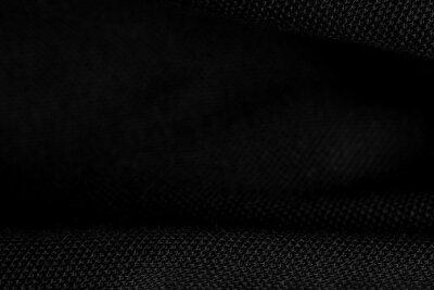 Fototapeta abstract black background, closeup texture of black color