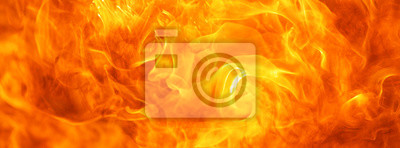Fototapeta abstract blaze fire flame texture for banner background