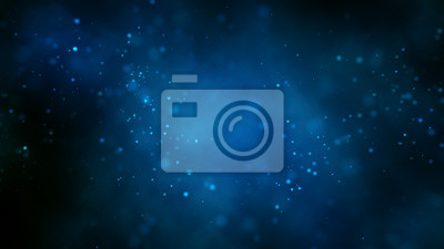 Fototapeta Abstract bright glitter blue background out of focus.3 d render.
