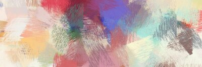 Fototapeta abstract brush strokes background decoration with pastel gray, light gray and dark moderate pink. graphic can be used for wallpaper, cards, poster or creative fasion design element