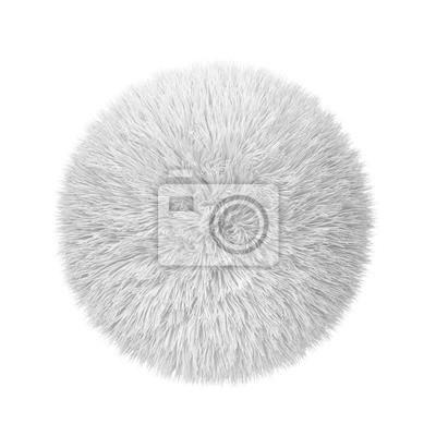 Fototapeta Abstract fluffy ball