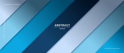 Fototapeta Abstract geometric shapes composition banner_19
