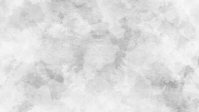 Fototapeta Abstract gray and white watercolor background