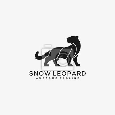 Fototapeta Abstract Leopard Black Color Concept
