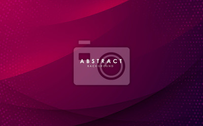 Fototapeta Abstract modern background gradient color. Purple gradient with halftone decoration.