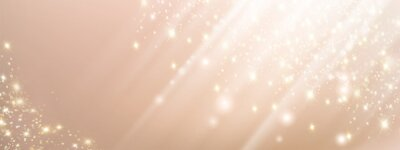 Fototapeta Abstract pink beauty background with lights and sparkles