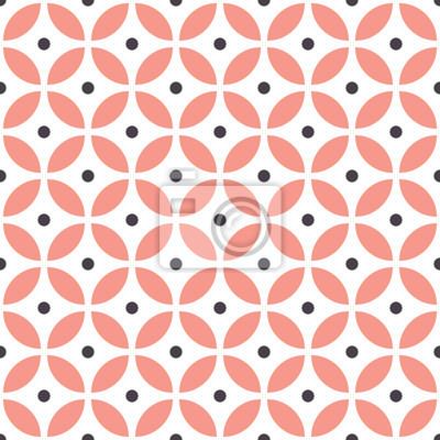 Abstrakcjonistyczny bezszwowy geometryczny wzór w skandynawskim stylu. Tapeta w pastelowym kolorze.