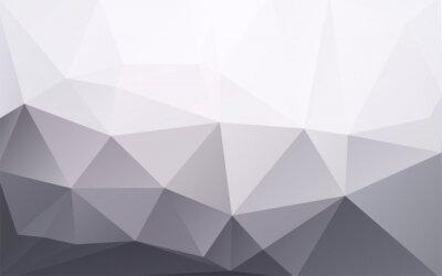 Fototapeta abstrakcyjna biznesowych geometrycznych szarym tłem