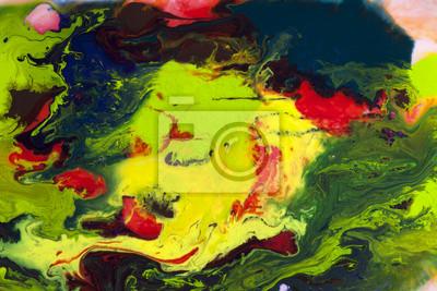 Abstrakcyjna kolorowe akwarela w tle wody z rozmycia