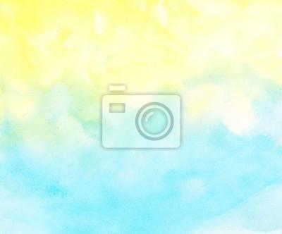 Abstrakcyjna kolorowe tło akwarela.