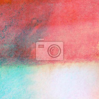 Abstrakcyjna kolorowe tło malowane akwarela