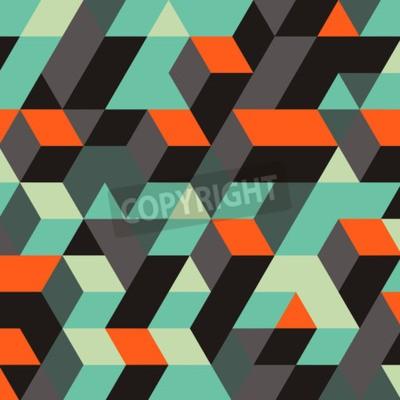 Fototapeta Abstrakcyjne Geometryczne 3d Tła. Może być używany do tapety, tłem strony internetowej, banerami internetowymi.