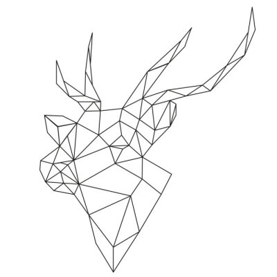 Fototapeta abstrakcyjne jelenia