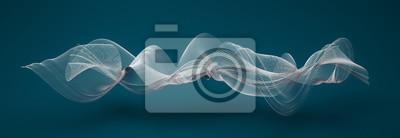 Fototapeta Abstrakcyjne kształty fali