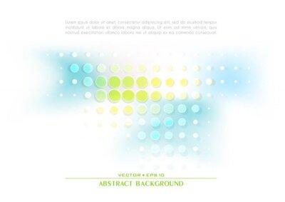 Abstrakcyjne niebieskie i żółte tło techno. Układ szablonu projektu okładki dla korporacyjnej książki biznesowej, broszury, broszury, ulotki, plakatu. Wektor