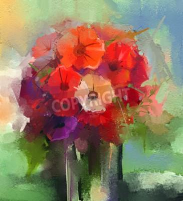 Obrazy Abstrakcyjne Kwiaty
