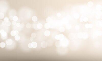 Fototapeta Abstrakta lekka plama i bokeh skutka tło. Wektorowy defocused słońce połysku lub lśnienia światła i błyskotliwa łuna dla festiwalu lub białego świętowania tła szablonu