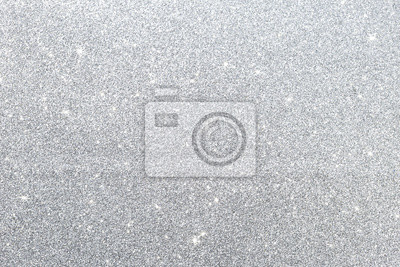 Fototapeta Abstrakta srebra błyskotliwości tekstury tło, świąteczny sezonu pojęcia tło