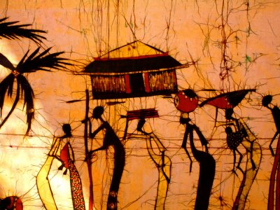 Fototapeta african Art