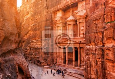 Fototapeta Al Khazneh (The Treasury) in Petra
