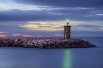 Fototapeta Alba nel porto