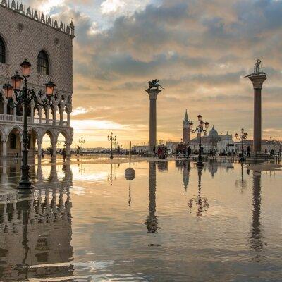 Fototapeta Alba w Wenecji, San Marco