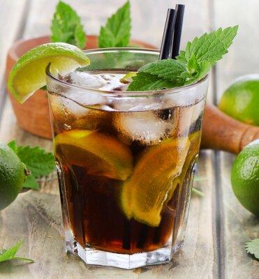 Fototapeta alcoholic cocktail
