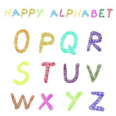Fototapeta alfabet