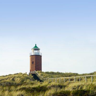 Fototapeta Alter Leuchtturm Kampen auf Sylt