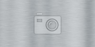 Fototapeta Aluminiowy Szczotkowany Metal Jednolite Tło Tekstury