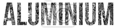 Fototapeta aluminium