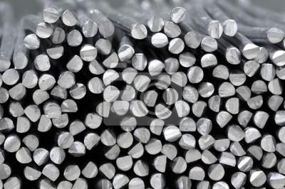 Fototapeta aluminium surowe laski