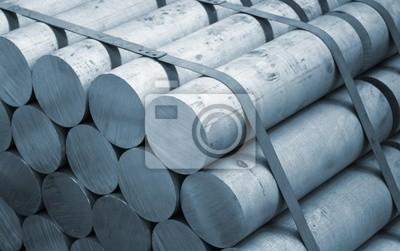 Fototapeta Aluminium surowiec