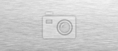 Fototapeta Aluminum background. Brushed metal texture or plate. Stainless steel texture close up. 3d illustration